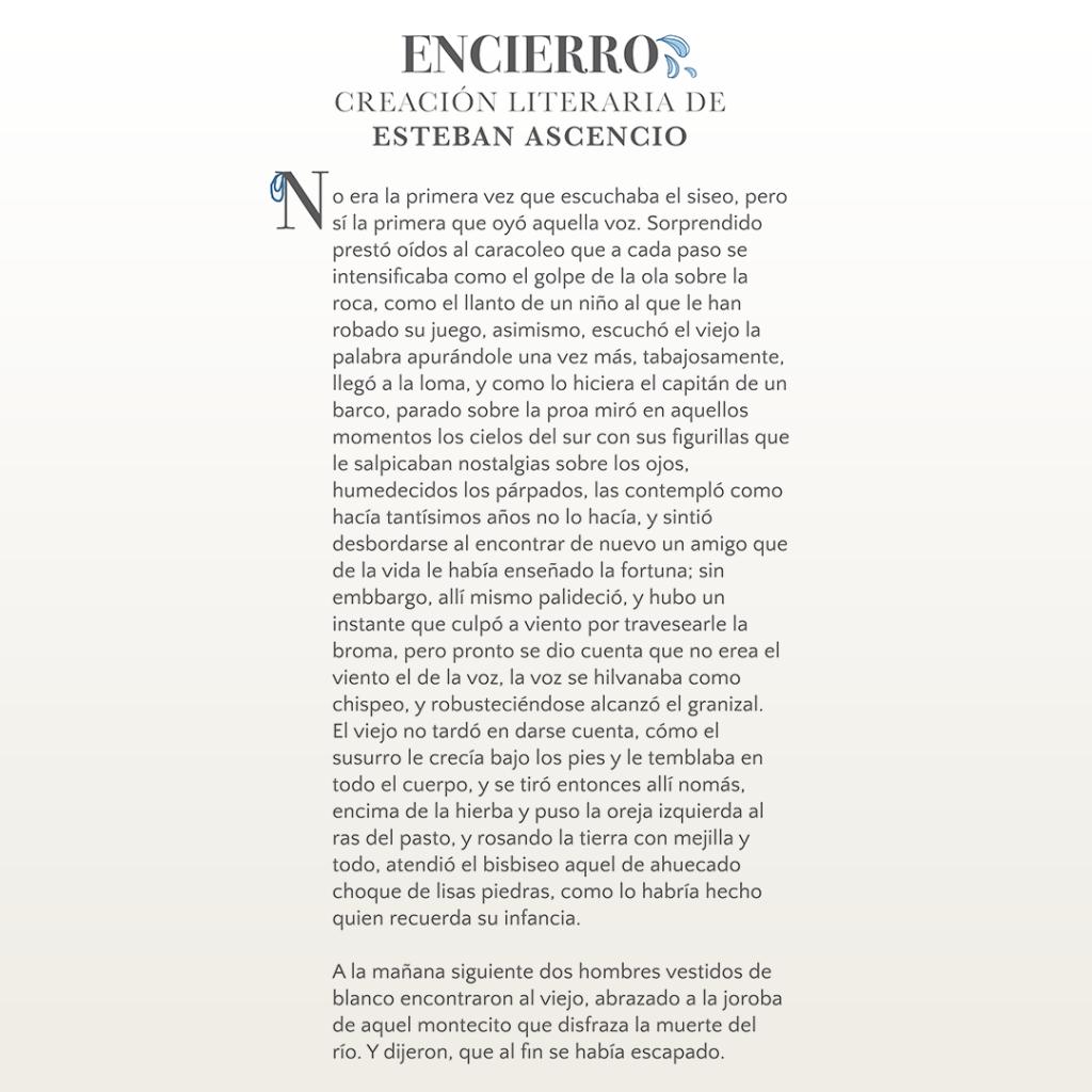 Encierro – Esteban Ascencio